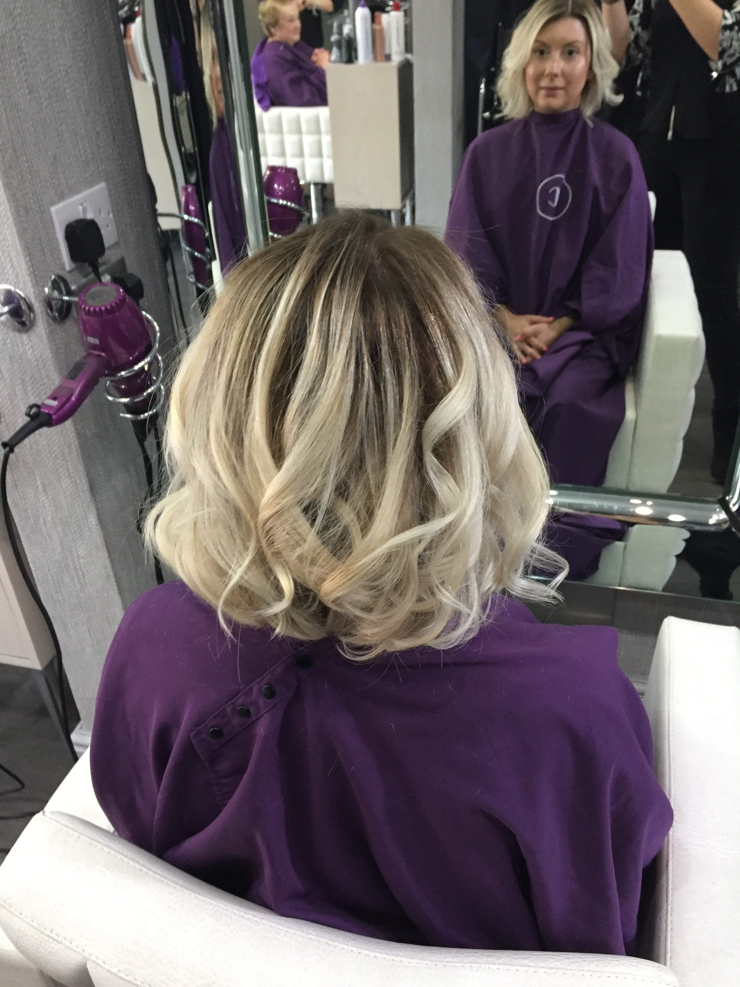 Shaz Saed -- Blonde Tea Party -- www.blonde-tea-party.com -- beauty and makeup tips -- balayage -- blonde hair -- hair colour -- blonde with brown roots -- natural looking hair colour -- summer hair ---