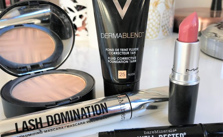 Shaz Saed -- Blonde Tea Party -- www.blonde-tea-party.com -- beauty and makeup tips -- vichy dermablend -- vichy -- full coverage foundation and powder -- high cover makeup --