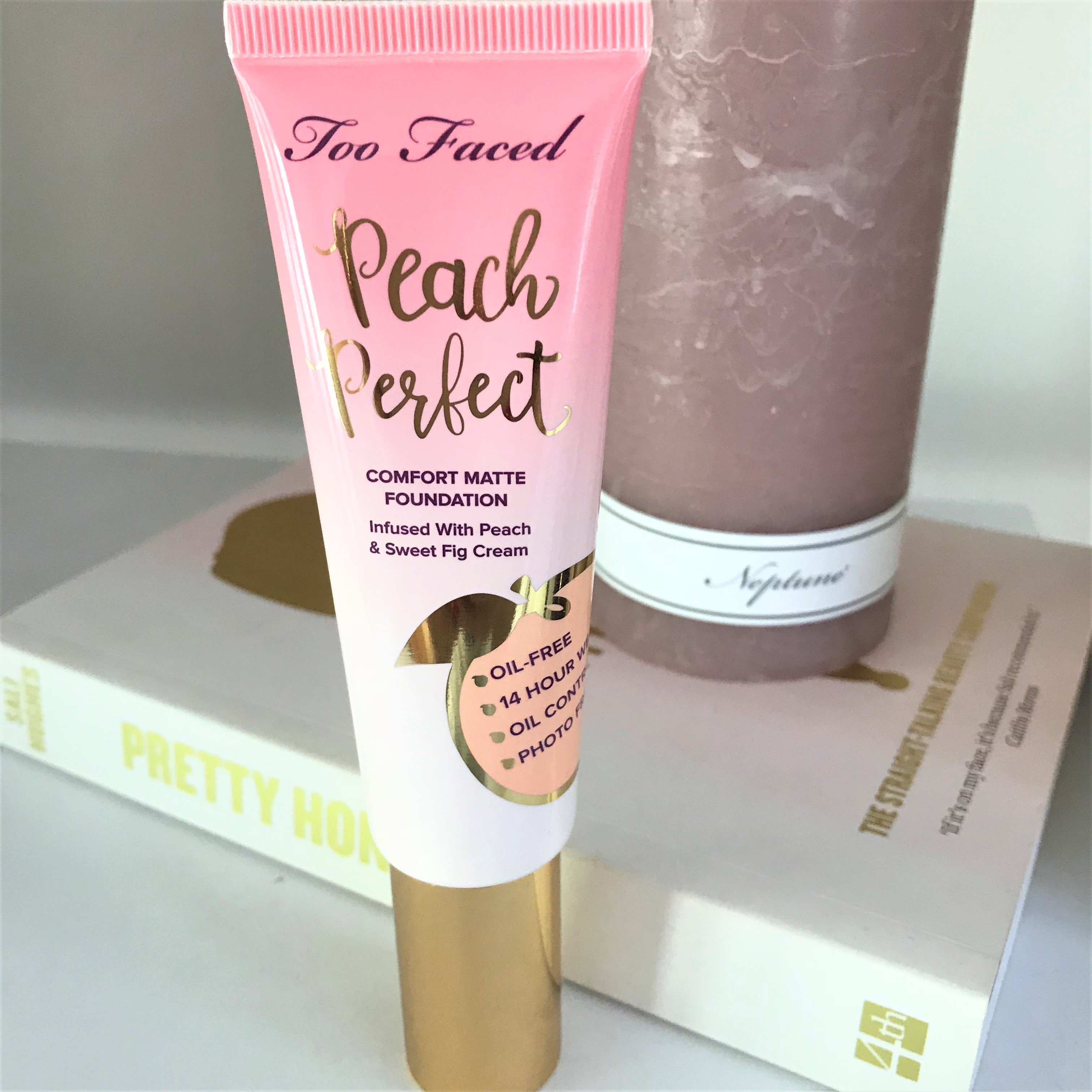 Too Faced Peach Perfect Comfort Matte Foundation Blonde Tea Party