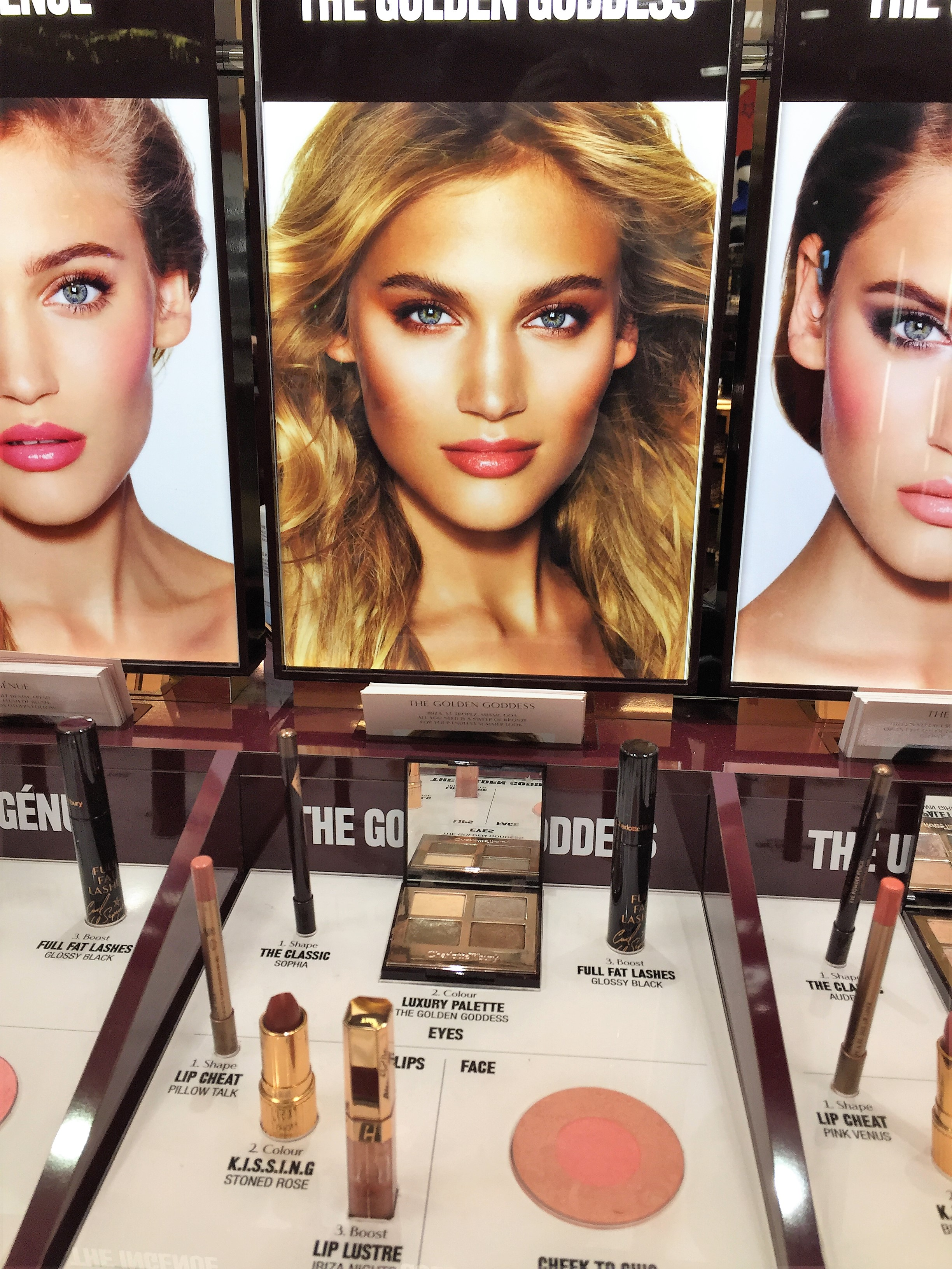 Shaz Saed -- Blonde Tea Party -- www.blonde-tea-party.com -- beauty and makeup tips -- charlotte tilbury--kingston bentalls -- magic foundation--golden goddess--glamerous makeup look--